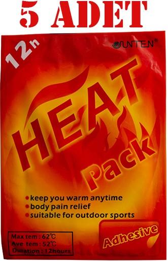 Junten Heat Pack Isı Bandı Uzun Süre Etkili Aynı Gün Ücretsiz Kargo 5 Adet