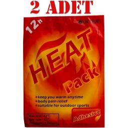 Junten Heat Pack Isı Bandı Uzun Süre Etkili Aynı Gün Ücretsiz Kargo 2 Adet